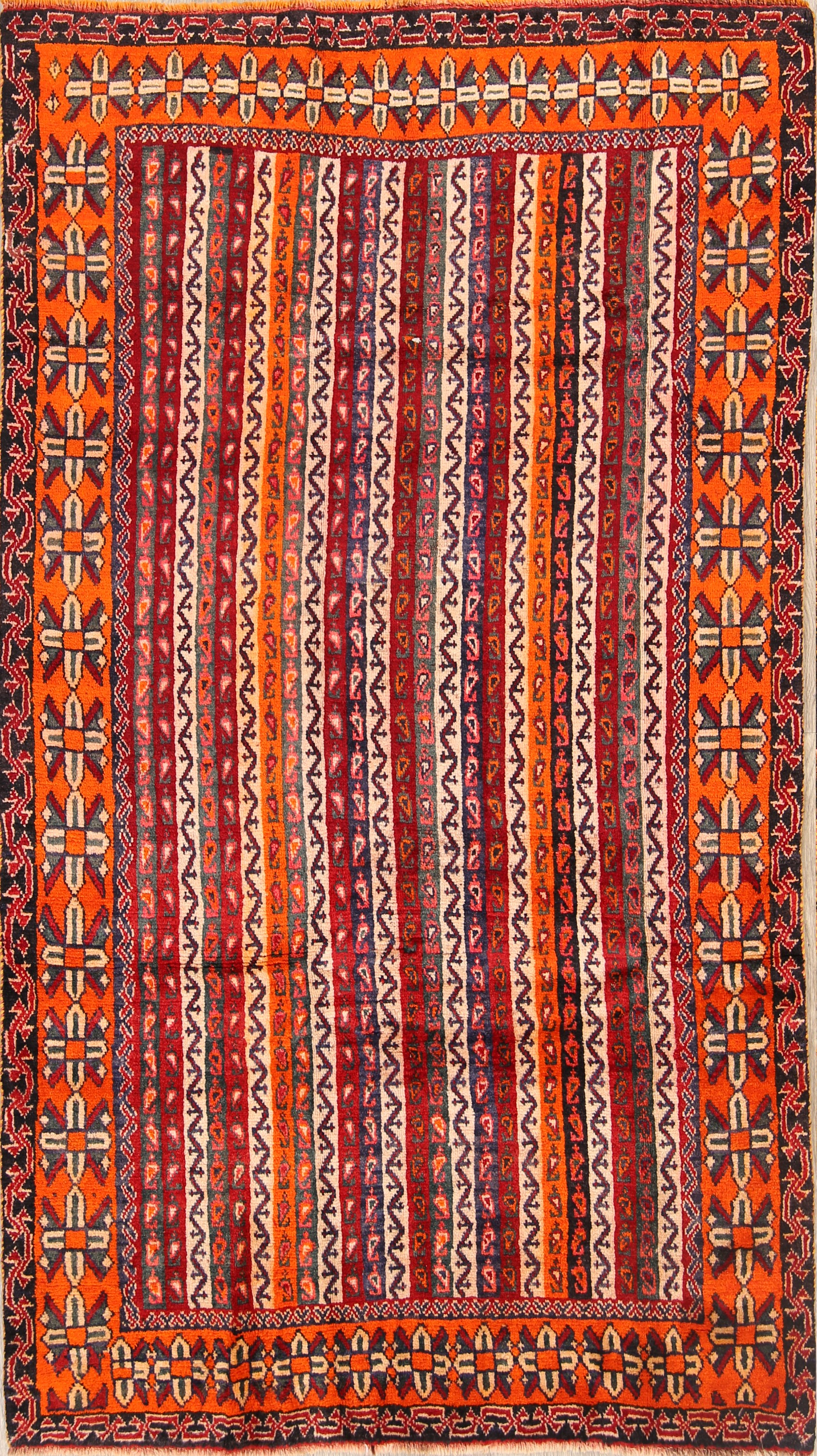 4x8 Kashkoli Shiraz Persian Area Rug