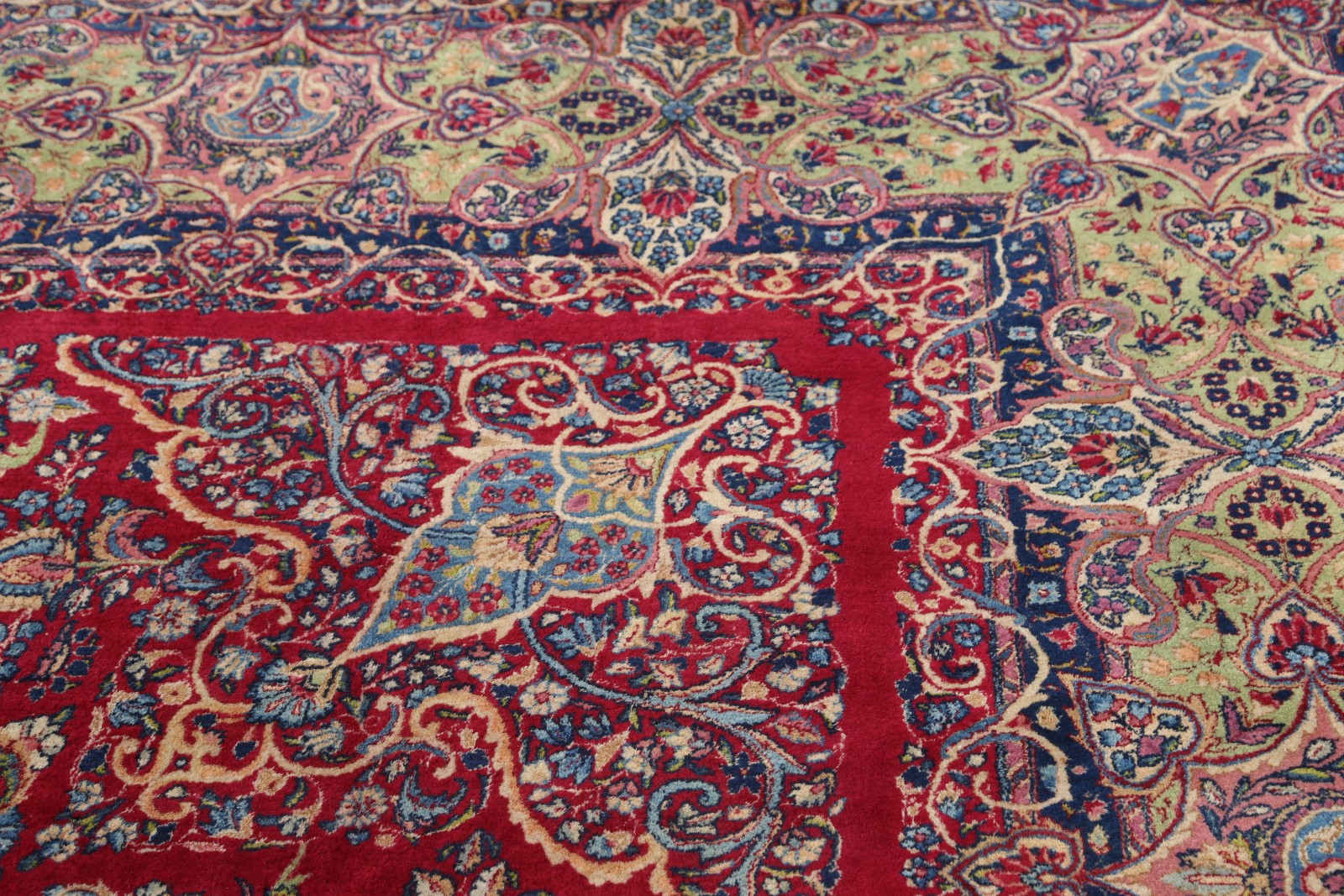 12x18 Kerman Persian Area Rug