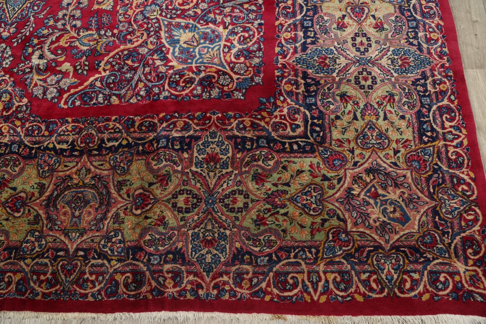 12x18 Kerman Persian Area Rug