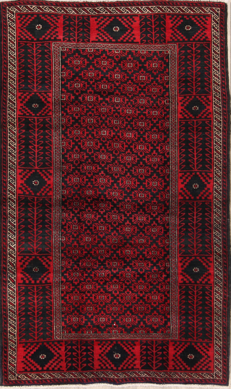 5x7 Balouch Persian Area Rug