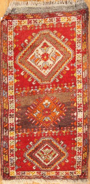 2x3 Kazak Russian Oriental Area Rug