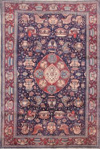 7x11 Kashan Persian Area Rug