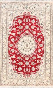 5x8 Nain Persian Area Rug