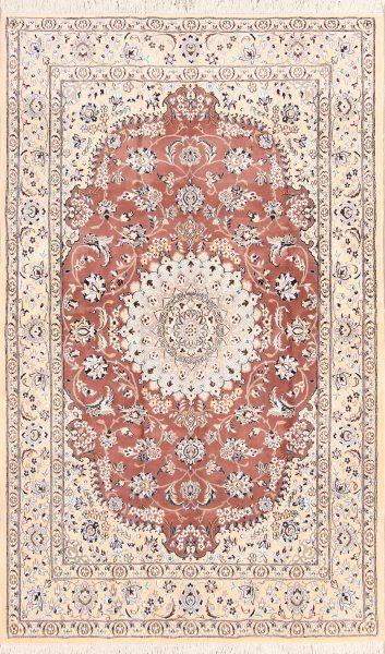 Floral 5x9 Nain Persian Area Rug