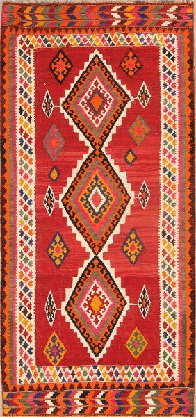 5x10 Kilim Shiraz Persian Area Rug