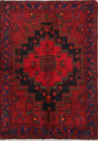 Geometric 4x5 Zanjan Persian Area Rug