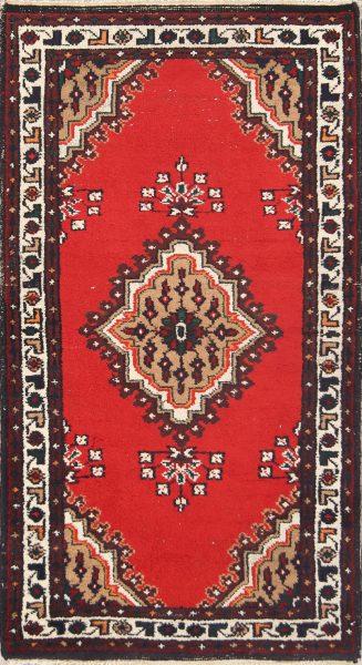 Geometric 3x5 Heriz Persian Area Rug