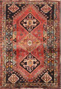 Geometric 4x6 Abadeh Nafar Persian Area Rug