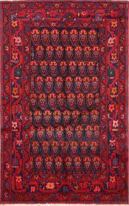 All Over 4x6 Malayer Hamadan Persian Area Rug