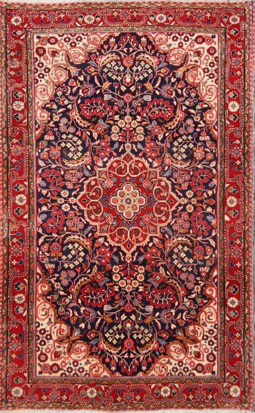 4x7 Sarouk Persian Area Rug