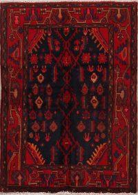 4x5 Nanaj Hamedan Persian Area Rug