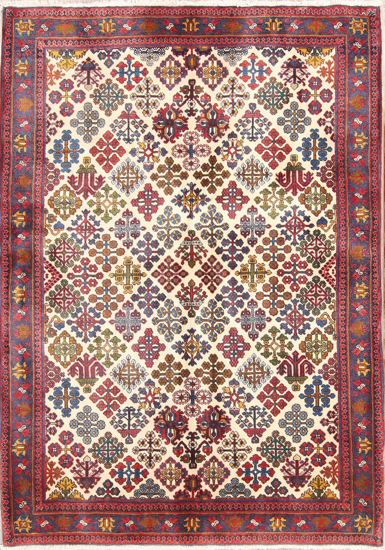 4x8 Meymeh Abadeh Persian Area Rug