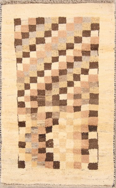 3x4 Gabbeh Shiraz Persian Area Rug