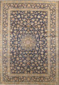 9x13 Kashan Persian Area Rug