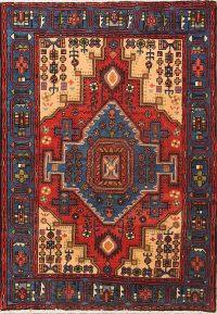 4x6 Nahavand Hamadan Persian Area Rug