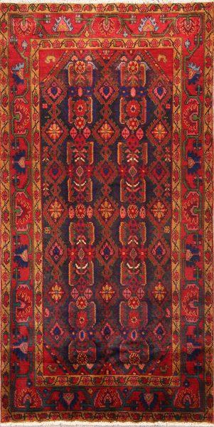 4x7 Hamedan Nanaj Persian Area Rug