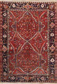 7x10 Heriz Serapi Persian Area Rug