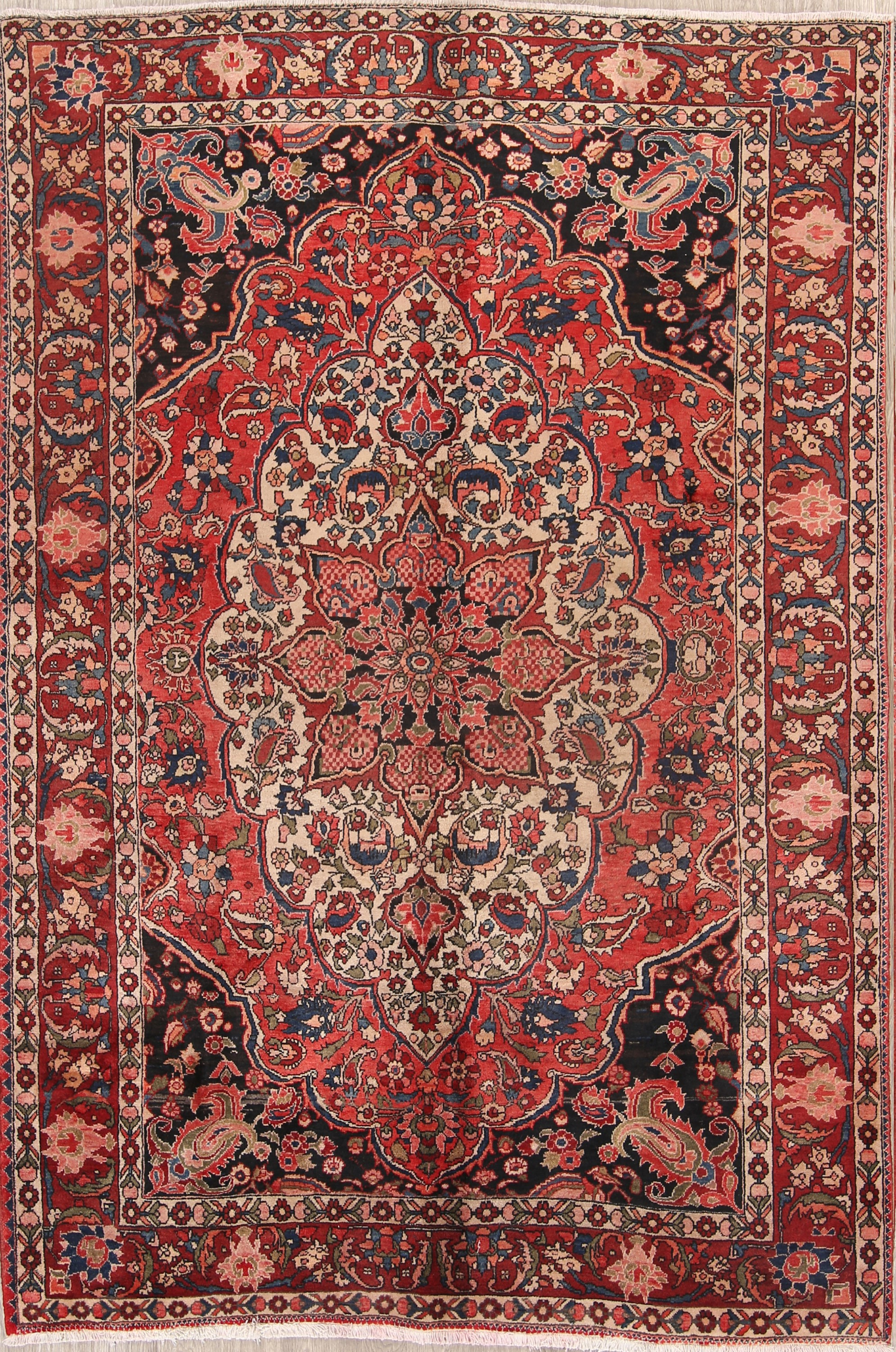 Decorative 7x10 Bakhtiari Persian Area Rug