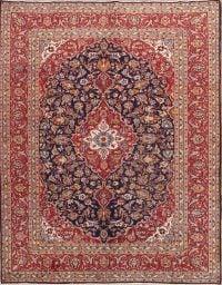 Floral 8x12 Kashan Persian Area Rug