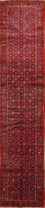 Appealing Palace Sized 4x17 Hossainabad Hamadan Persian Rug Runner