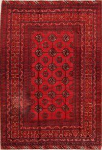 4x7 Balouch Bokara Persian Area Rug