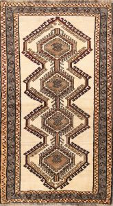 4x6 Gabbeh Shiraz Persian Area Rug