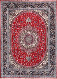 Soft Plush 10×12 Mashad Machine Made Persian Area Rug