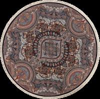 8x8 Tabriz Qum Persian Area Rug