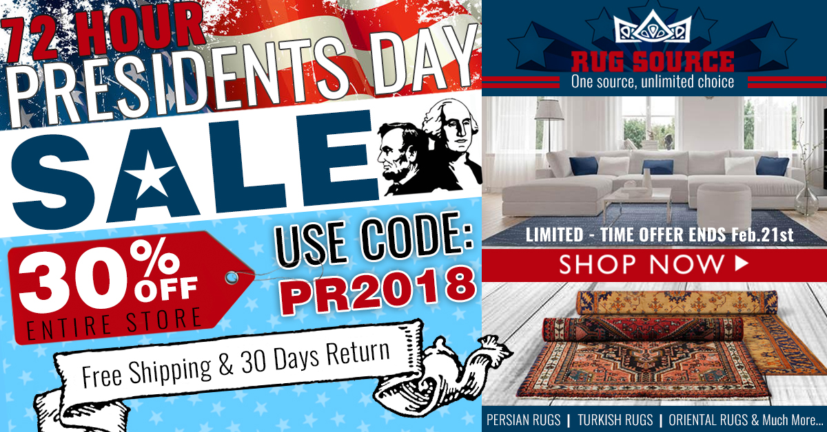 Presidents Day Banner 1200x628