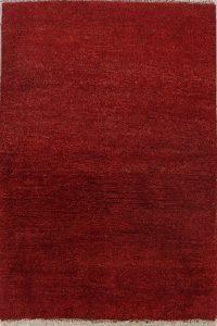 Soft Plush Thick Pile 3x5 Gabbeh Shiraz Persian Area Rug