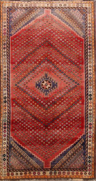 Geomtetric Tribal 5x8 Lori Shiraz Persian Area Rug