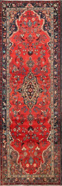 3x11 Hamedan Persian Rug Runner