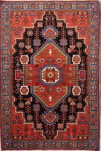 5x7 Nahavand Hamedan Persian Area Rug