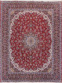 Soft Plush 10×13 Kashan Machine Made Persian Area Rug
