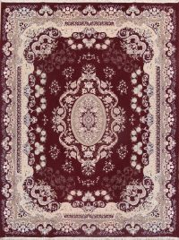 Soft Plush 10×13 Tabriz Machine Made Persian Area Rug