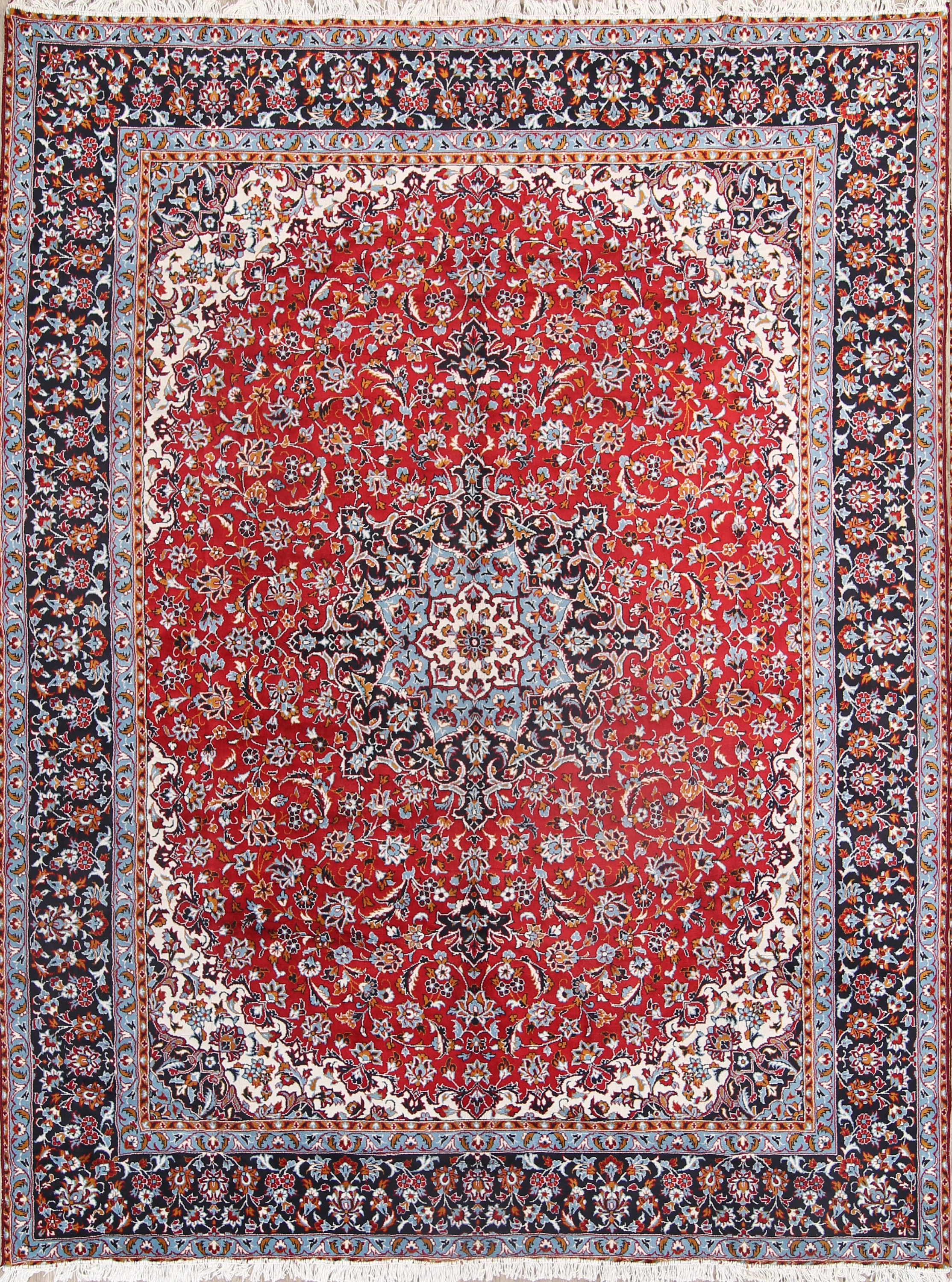Soft Plush 9x12 Najafabad Machine Made Persian Area Rug