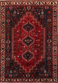 Tribal 7x10 Shiraz Persian Area Rug