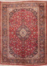 Floral 8x11 Kashan Persian Area Rug