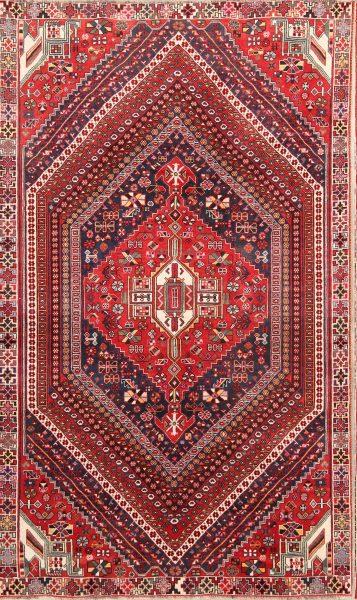 Tribal Nomad 6x9 Kashkoli Shiraz Persian Area Rug