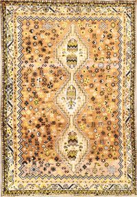 Little Animals Nomad Tribal 6x9 Shiraz Persian Area Rug