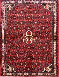 Floral 4x6 Hamedan Persian Area Rug