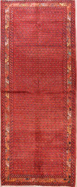 Vintage Boeh 4x10 Botemir Persian Rug Runner