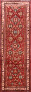 Floral 4x10 Sultanabad Sarouk Persian Rug Runner