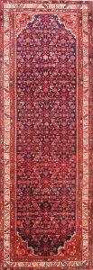 Floral 4x11 Hamedan Persian Rug Runner