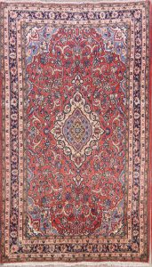 Floral Foyer Size 4x7 Sarouk Persian Area Rug