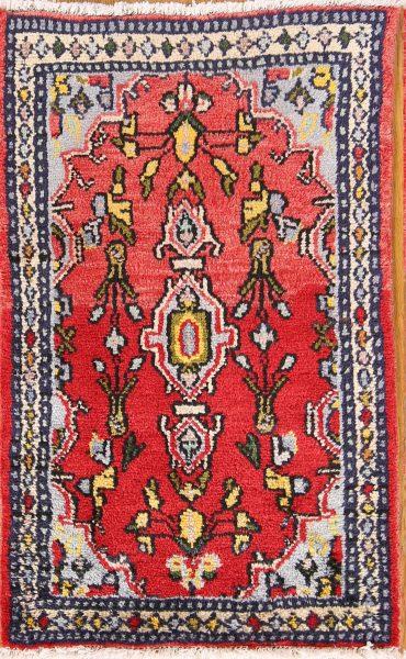 Floral 2x3 Hamedan Persian Area Rug