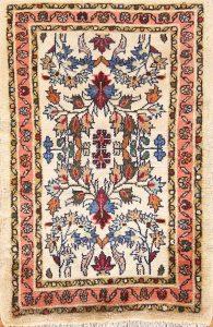Floral Foyer Size 2x3 Lilian Hamedan Persian Area Rug