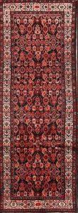 All-Over Floral 3x9 Hamedan Persian Rug Runner