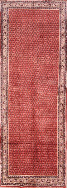 All-Over Boteh 4x10 Botemir Persian Rug Runner