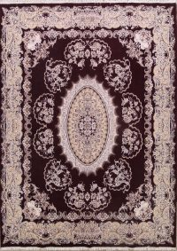 Traditional Floral 10x13 Tabriz Persian Area Rug